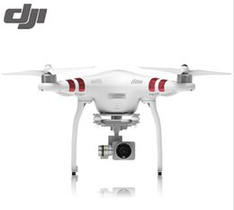 Wholesale Control Lens - 100% Original Dji Phantom 3 Standard High Quality FPV Camera Drone RC Helicopter with 2.7K HD Camera and 3-Axis Gimbal