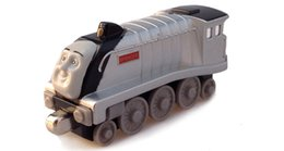 Wholesale Toy Locomotive Trains - Special offer genuine small locomotive Spence alloy magnetic toys gift model