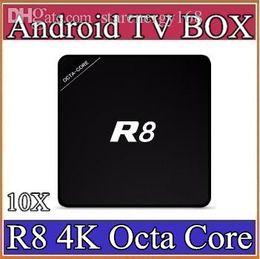 10X TV Box R8 1G / 8G RK3368 Octa Core H.265 4K2K Octa Core Android 5.1 Smart TV Box 4K Smart Media Player BT4.0 Multi idioma 3-D8 desde fabricantes