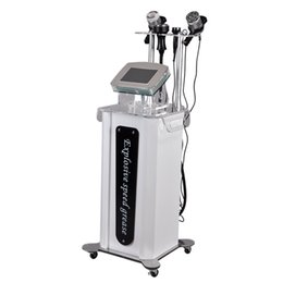 Wholesale Reduce Weight - Portable Tripolar RF Liposuction BIO Vacuum Ultrasound Cavitation Machine Weight Fat Reduce Body Shaper 5 in 1