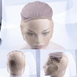 Apenas perucas on-line-Gluess Peruca Caps para Fazer Perucas Apenas Esticar Cap Alças Ajustáveis Garantia de Alta Qualidade por rendas Francês