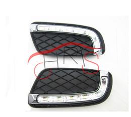 Wholesale Daytime Mercedes - LED Daytime Running Light LED DRL FOR Mercedes Benz 2008-2012 car styling