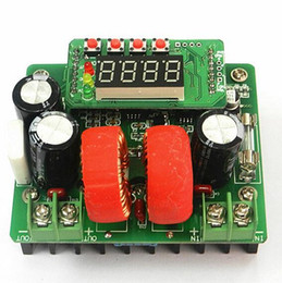 Wholesale Supply Regulations - digital B400W controlled DC Boost Module power supply constant voltage and current meter 80V10A high power precise regulation