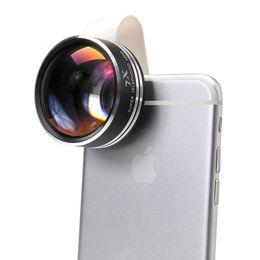 Wholesale Telescope Lenses For Cell Phones - Universal Clip 7X Telephoto Telescope Phone Camera Lens for iphone 6 4 5S Samsung Cell phones Optical Telescope Lens APL-7XST DHL FREE