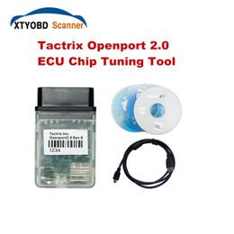 Wholesale Ecu Audi - Wholesale-Free Shiping Auto ECU Flash OBD2 Scanner Tactrix Openport 2.0 Works Multi-Brand Cars Tactrix Flashing Supprots OBDII Protocols