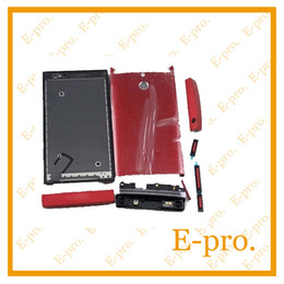 Wholesale Xperia P Phone Case - Mobile Phone Accessories Parts Mobile Phone Housings Original For Sony For Xperia P LT22I LT22 Full Housing Cover Case With Bottons