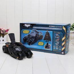 Wholesale Batman Arkham City Toys - Robot Batman Car and Action Figure Batmobile Arkham city Doll Dolls Toy For Children Kids Baby toy Gift Military Toys 1206#06