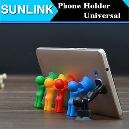 Wholesale Stand Man Iphone - Universal Sucktion Phone Holder Cellphone Stand Hercules 3D Man Mount For iPhone 5S 7 Samsung note 7 Xiaomi Redmi Note 3 pro