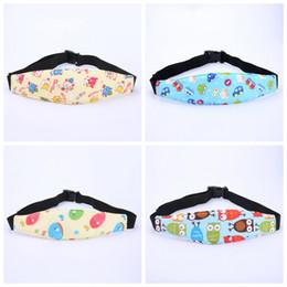 Wholesale Infant Seat Support - Infant Head Belts Adjustable Car Safety Seat Sleep Positioner Baby Heads Support Pram Stroller Fastening Belt 3 2nl C R