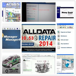 Wholesale Mazda Repair Parts - HOT!!! alldata and mitchell software 2015 alldata 10.53 + Mitchell on demend 2015 + auto parts catalogue etc 49 in1 with 1TB HDD