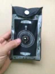 Wholesale Muslim Prayer Rugs - 4Colors islamic travel pocket prayer mat with compass muslim prayer rug Same As Picture