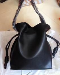 Wholesale Orange Buckets - 2017 newest Genuine Leather Lo Brand Women Shoulder Bag New Fashion Design Quality AAA Female Handbag star tote black