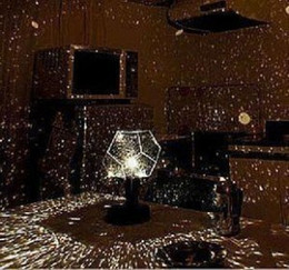 Wholesale nightlight stars - Super bright version of the four or five generation of adult science instrument four star projector projection lamp Nightlight birthday gift