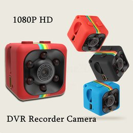 Wholesale Hidden Camera Night Motion - SQ11 Hidden Camera Spy camcorders 1080P HD Sports camera DVR Mini DVR Night Vision DV Motion Detection Video Recorder with retail box