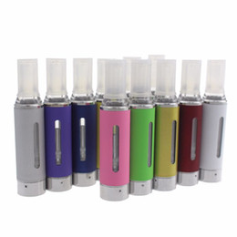 Wholesale Electronic Cigarette Evod Tanks - MT3 ecig atomizer - 2.4ml coil replaceable electronic cigarette atomizer rebuildable coil clearomizer tank for ego battery EVOD MT3 Kit