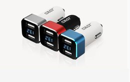 Wholesale High Voltage Protection - High quality Car charger fits less 24V voltage Vehicle Dual USB Port Quickly Charging insert Protection