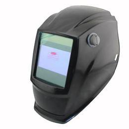Wholesale Arc Tools - Welding tools Out control Big view eara 4 arc sensor Solar auto darkening TIG MIG MMA welding mask helmet welder cap lens face mask