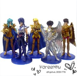 Wholesale Saint Seiya Action Figures Collection - Patrulla Canina Toys 3 Sets lot 1set=5pcs 3styles Optional 4.8 Inch Solid Pvc Saint Seiya Action Figures Toys Model Collection free Shipping