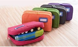 Wholesale Iphone Pouch Korean - Korean Multifunctional Mobile Phone Bag Wallet Card Cosmetic Slot Case Flip Cover Stand Pouch Handbag for galaxy S5 Iphone 4 5s 6 plus