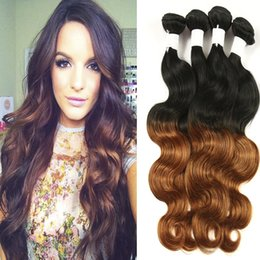 Wholesale Hair Weaving Bond - 4 Bundles Cheap malaysian Ombre Body Wave 1B 30 8A Ombre malaysian Hair Extensions Two Tone 100% Boay Wave Human Hair kilala Hair Products