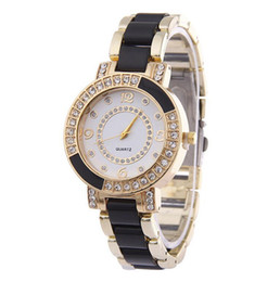 Wholesale cheap crystal buckles - Hot Sales Fashion Women Watches Full Crystal Plastic Quartz Watches Rome number Women's Casual Fashion Watch Cheap Wholesales Factory JH1061