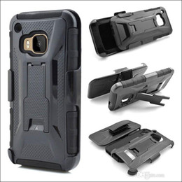 Wholesale M9 Belt - X Style Hybrid Heavy Duty Armor Case With Kickstand Rotating Belt Clip Holster Cover for Galaxy S6 Edge For HTC M9 For iP6 6S Plus Free Ship