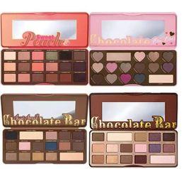 Wholesale Best Fashion Wear - High quality Makeup Chocolate Bar Eyeshadow semi-sweet Sweet Peach Bon Bons Palette 16 Color Eye Shadow plates best fashion ky eye shadow