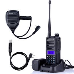 Wholesale Handheld Vhf Ham Radio - Baofeng UV-82 upgraded version UV-82 Plus Walkie Talkie Two Way Ham Radio Transceiver Dual Band 136-174 400-520MHz +MIC+CD