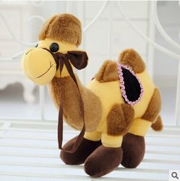 Wholesale Stuff Camel Toys - lovely 25cm of camel plush toy doll pillow, camel stuffed animal doll birthday gift for children
