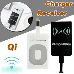 Argentina Qi Cargador inalámbrico de energía Módulo receptor Adaptador Adaptador de carga de alta velocidad para iPhone 7 Plus 6 6S SE 5S 5 Samsung Note 8 S8 S7 S6 Edge Suministro