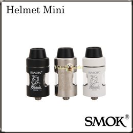 Wholesale Original Helmets - Smok Helmet Tank 24.5mm & Smok Helmet Mini Tank 22mm Capatiable with H-priv Mod,Smok Primus,Koopor Mini 2 100% Original