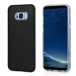 Wholesale Iphone Fall Case - For iPhone 7 6S Plus 2 in 1 Anti Fall Protection Shockproof Armor Hard TPU PC Cellphone Cover Cases For Samsung S8 Plus