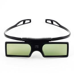 Gafas 3d lg online-Gonbes G15-DLP BT Obturador activo 3D Gafas Proyector Smart TV Gafas 3D para Optoma LG Acer DLP-LINK DLP Proyectores de enlace Gafas 3D con estuche