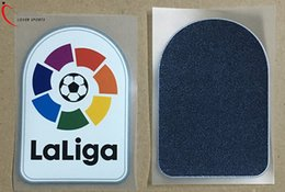 Wholesale Free Armbands - 2017-2018 New patch player version Big LFP and Free shipping LFP patch season old La Liga armbands