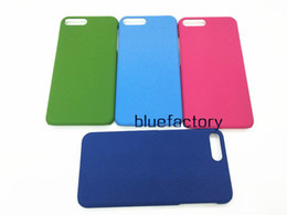 Wholesale Hard Grind - Hot Sell Matte Hard Case Plastic Frosted Back Cover for iphone 7 Ultra Thin Colorful Grind arenaceous shell For iphone 6s 7 plus