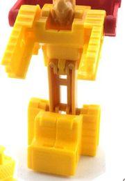 Wholesale Toy Car Bulk - Classic mini toy robot, deformed of car, airplane tank, changeable diamond bulk gift infant toy car