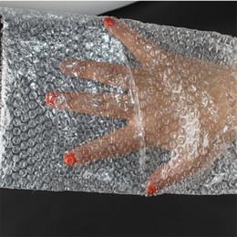 Wholesale Packaging Bubbles - Wholesale-8*10cm 50Pcs 10mm Cushioning Bubble Bags Bubble Protective Wrap Bolsa Burbuja Packaging Inflate Foam Packing Verpackungen Schaum
