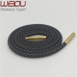 Маска для обуви онлайн-Weiou Round 3M Светоотражающие шнурки из металла aglets Безопасные детские шнурки для детей Волшебные шнурки для обуви шнурок с блестящей защелкой 70см