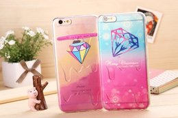 Wholesale Melted Ice Cream Case - Phone Cases Cover Melting Ice Cream Soft Cartoon Korean-style TPU i5S iphone 5 Case i6 For iphone 6 Apple iphone 6 plus