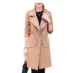 Wholesale Plus Size Polka Dot Coat - Small Suit Jacket Female 2018 Spring Autumn Slim Long Style Women Blazers Casual Fashion Plus Size Long Sleeve Coat Outerwear