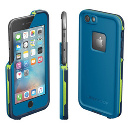 Wholesale Snow Proof - Top Quality Waterproof Shockproof Snowproof Dirt Snow Proof Phone Case For Iphone 6 4.7 Retail Package 4 Colors DHL free