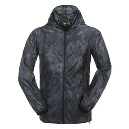 Wholesale female military jackets - Women Summer Jacket Hiking Military Quick Dry Outdoor Sport Jacket Women Camping UV Protective Sun Coat Summer Female S-L