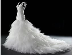 Estilo árabe Plus Size Vestidos De Casamento 2016 Trompete / Sereia Vestido De Noiva Branco Tribunal Trem V Neck Lace Tulle Vestidos De Noiva de