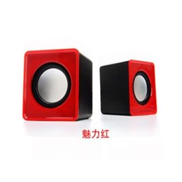 Wholesale Sound Speaker Mp3 Usb Notebook - Mini stereo hot products The new 2016 computer speakers mini speakers usb2.0 wholesale notebook sound