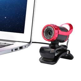 Wholesale Wholesale Computers Laptop Desktop - USB 2.0 50 Megapixel HD Camera Web Cam 360 Degree with MIC Clip-on for Desktop Skype Computer PC Laptop C1947