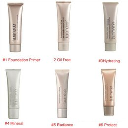 Wholesale mineral oil based - 2015 Makeup Laura Mercier Foundation Primer Hydrating  mineral  oil free Base 50ml 4 styles High Quality Face Makeup natural long-lasting