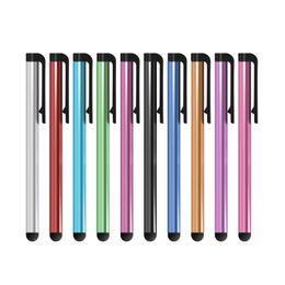 Оптовая 1000 шт. / Лот Универсальный емкостный стилус для Iphone5 5S Touch Pen для сотового телефона для планшета разных цветов от Поставщики оптовые телефоны samsung