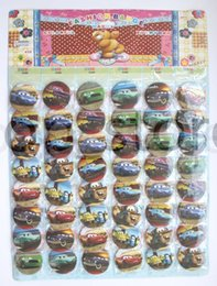 Wholesale free pin buttons - Classic movie racing 48x patterns designs Anime Badge Button Pins Party Gifts Diameter 45mm buy free shipping now