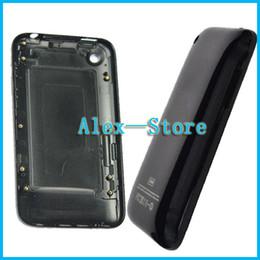 sony xperia z1 pièces Promotion Pour iPhone 3 3S Boîtier Blanc ou Noir Batterie Porte arrière pour iPhone 3G 3GS 8GB 16GB 32GB Arrière Logement de la batterie