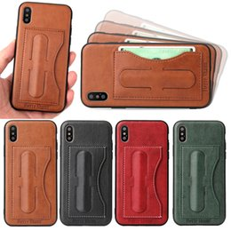 Wholesale Note Holster Wallet - For Samsung Note 8 Fashion Leather Holster Slim Shockproof Card Case Cover For Iphone x 10 edition DHL free shipping SCA339